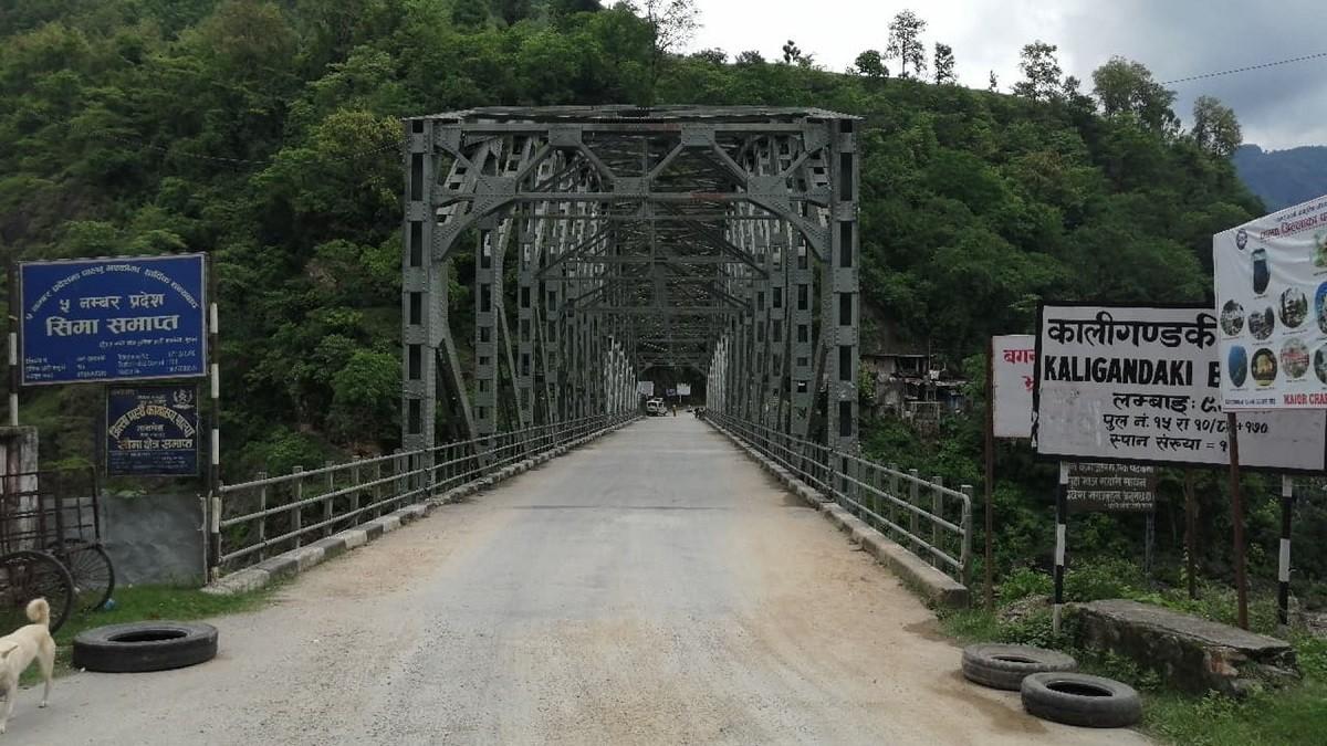 राम्दी पुल जीर्ण हुँदा जनता मर्कामा